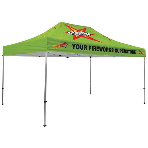 Premium Aluminum 15' Tent Kit (Full-Bleed Dye Sublimation) (240563)