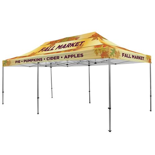 Premium Aluminum 20' Event Tent Kit (Full-Bleed Dye Sublimation)