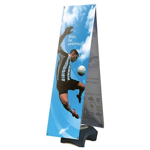 "Outdoor banner stand Double Sided 24"" x 60"" Vinyl Graphic"
