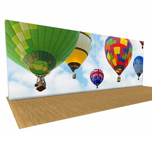 SEG Pop Up Trade Show display 20ft Large Wall Display