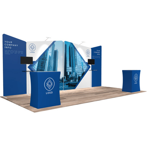 10'x20′ Quick-N-Fit Booth – Kit 1218