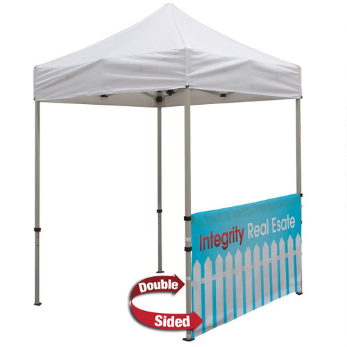 Deluxe 6' Tent Half Wall Kit (Dye-Sublimated, Double-Sided)