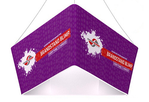 Blimp Tapered Triangle Hanging Signs - Trio