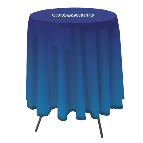 31.5 Inch Round Table Throw with 33.25 inch overhang (Full-Color, Full Bleed) (114041)