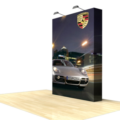 5ft Star Fabric Pop-Up Display with End Caps