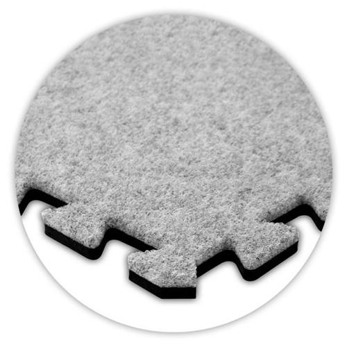 Soft Carpet Smoke Flooring