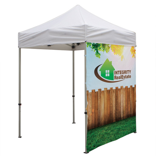6' Tent Full Wall (Dye Sublimated, Single-Sided) (240912)