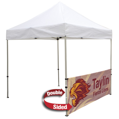 Deluxe 8' Tent Half Wall Kit (Dye-Sublimated, Double-Sided) (240887)