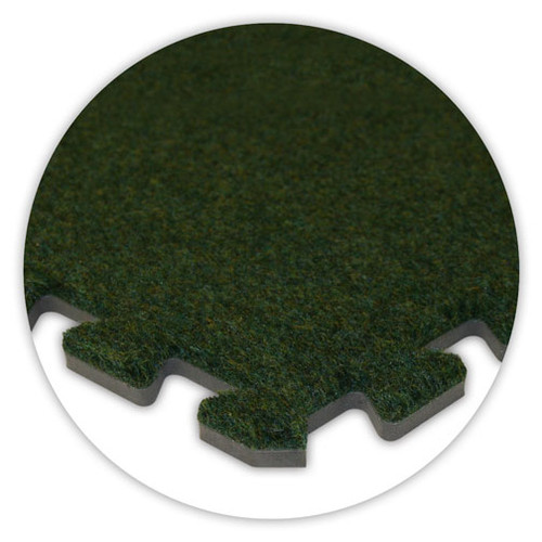 Soft Carpet Grass Green Flooring