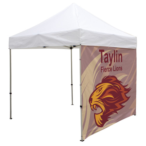8' Tent Full Wall (Dye Sublimated, Single-Sided) (240920)