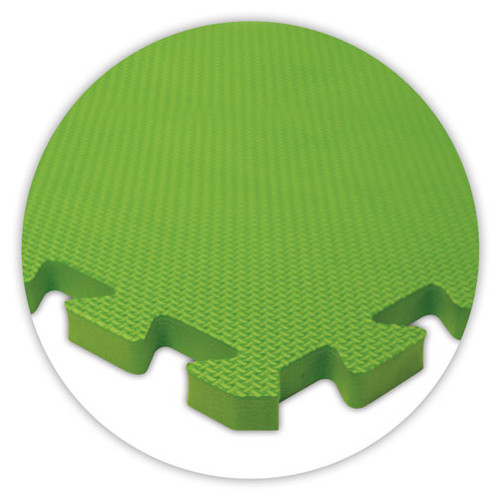 Soft Flooring Lime Green