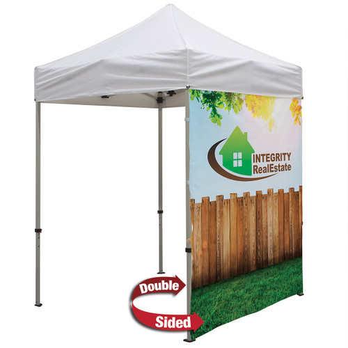 6' Tent Full Wall (Dye Sublimated, Double-Sided) (240913)