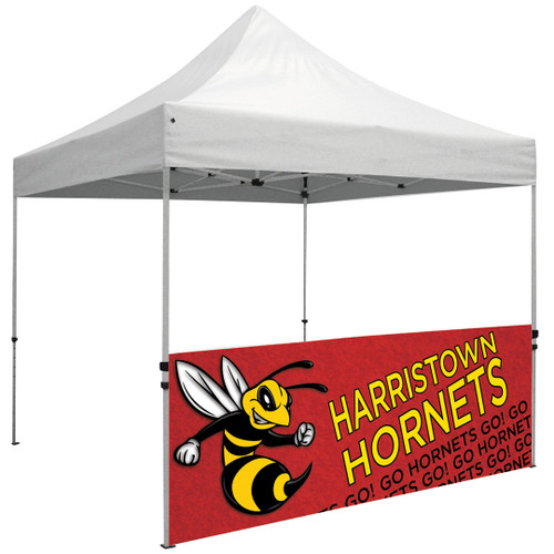 Product - Premium 10' Tent Half Wall Kit (Dye-Sublimated, Single-Sided) (240344)