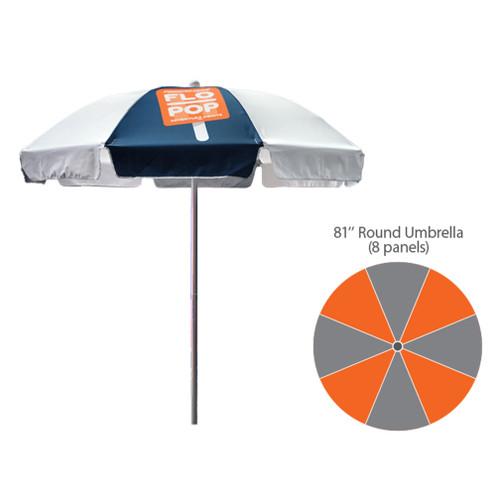 81″ – Dome Umbrella – Fully Printed