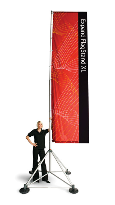 Expand Extra Tall OutDoor Flag Stand