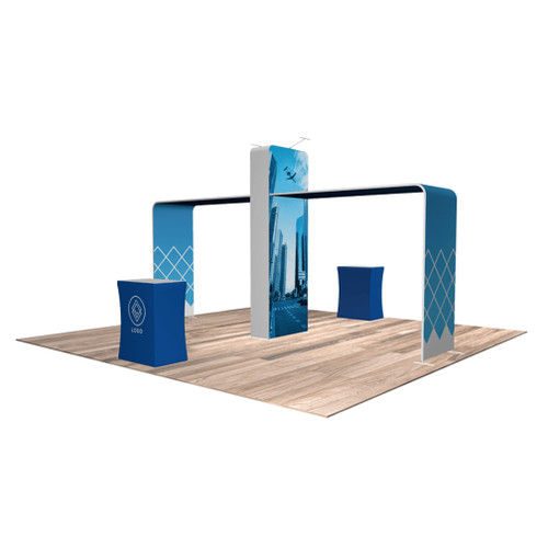 20'x20′ Quick-N-Fit Booth – Kit 2201