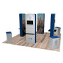 20'x20′ Quick-N-Fit Booth – Kit 2202