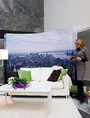 Expand Media Fabric Curved Wall Pop Up Display