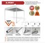 10ft Canopy Aluminum Heavy Duty Full Color Print