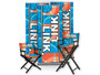 """Director Chairs Counter Height 30"""" Dye Sublimation"""