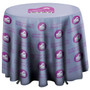 31.5 Inch Round Table Throw with 27 inch overhang (Full-Color, Full Bleed) ITEM # 114040