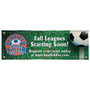 Custom Lightweight fabric banners Dye Sublimated Outdoor Single-Sided Banner