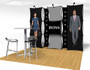 Xpressions Connex Pop up Display 10ft Kit D