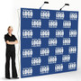 Expand Media Fabric Straight Wall Pop Up Display