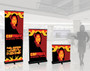 QuickScreen 1 Retractable Fabric Banner