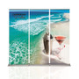10ft Cascade Retractable Banner Stand Back Wall