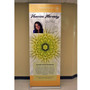 """36"""" Retractable Banner Stand 36"""" with 96"""" Banner"""