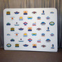 Step and Repeat Backdrop‎ 10ft Straight with Graphic