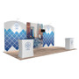 10'x20′ Quick-N-Fit Booth – Kit 1206