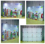 OneFabric 5ft Straight Wall Pop up Display
