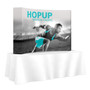 Hopup 8ft Tabletop Fabric Pop up Display