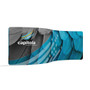 20ft Waveline Serpentine Double Sided Fabric Display