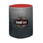 "31.5"" Bar-Height Round Fitted Table Throw (Full-Color Dye Sublimation, Full Bleed) (107047)"