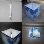 LED Cube Light fixture