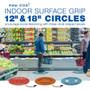 """12"""" Indoor Surface Grip Circles (set of six)"""