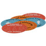 "12"" Indoor Surface Grip Circles (set of six)"