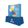 6ft Curved Splash Tabletop Display (Wrap Graphic Kit) (341013)