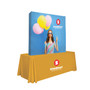 6ft Straight Splash Tabletop Display (Wrap Graphic Kit) (341001)