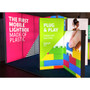 "Lightweight Light Box Display - Double-Sided- 39"" x 79"""