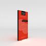 "WaveLight Infinity SEG Light Box Stand - Double-sided - 37.4""W x 78.7""H (INFT-KGD-950M)"