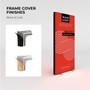 "WaveLight Infinity SEG Light Box Stand - Double-sided - 9.35' W x 78.7""H - Kit"