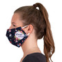 Imprinted Face Cover with Elastic Ear Loops