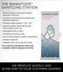 NEW Bannitizer Sanitizing Station