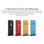 "Hanz Automatic Hand Sanitizer Dispenser and Stand (24""W x 60""H) Custom Graphic"