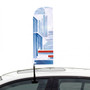 Car Club Window Flags Single Sided Printed