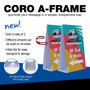 Coro A-Frame (Pair) Double Sided Graphic